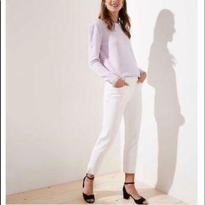 NWT Marisa Loft pants.  Size 8